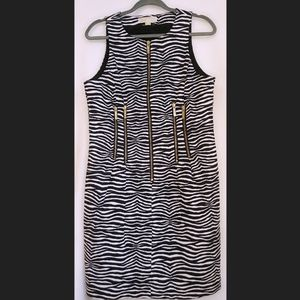 MICHAEL Michael Kors Zebra Print Dress